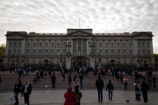 Obligatory Buckingham Palace photo. I really should have gone during the changing of the guard.